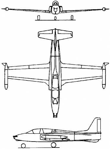 SOKO G-2 Galeb (Yugoslavia) (1961)