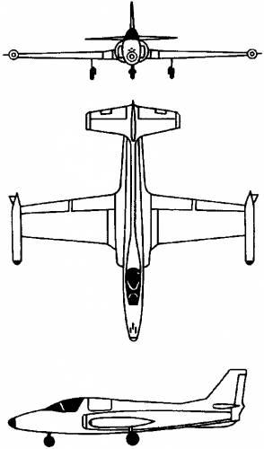 SOKO J-1 Jastreb (Yugoslavia) (1970)
