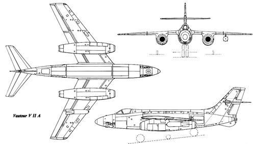 Sud-Aviation 4050 Vautour IIA