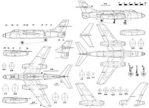 Sud-Aviation 4050 Vautour IIB