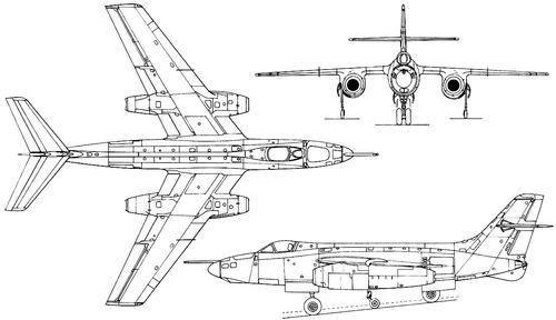 Sud-Aviation 4050 Vautour IIBR