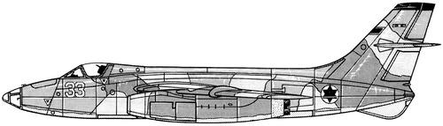 Sud Aviation 4050 Vautour IIBR