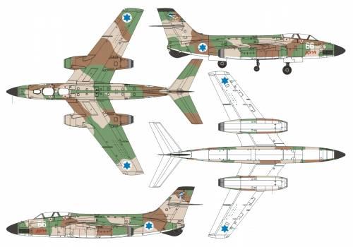 Sud Aviation 4050 Vautour IIN