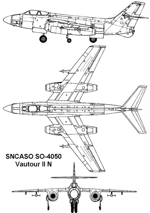 Sud-Aviation 4050 Vautour IIN
