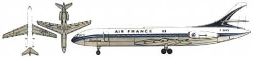 Sud Aviation Caravelle IIL