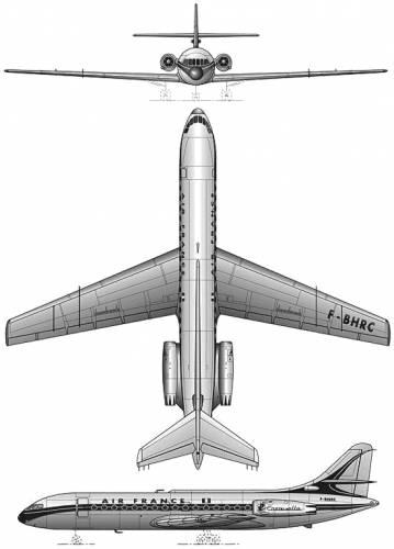 Sud Aviation S.E.210 Caravelle 3