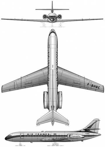 Sud Aviation S.E.210 Caravelle III