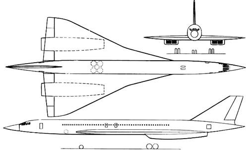 Sud Aviation Super Caravelle SST (1961)