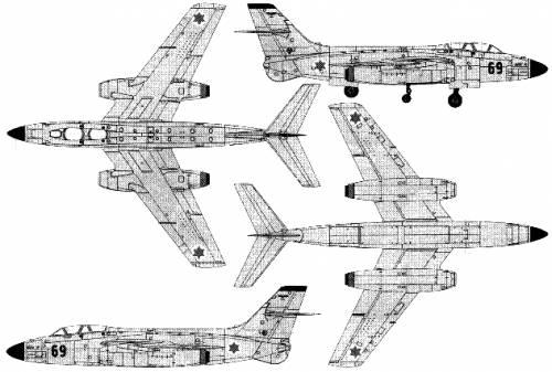 Sud Aviation Vautour IIN