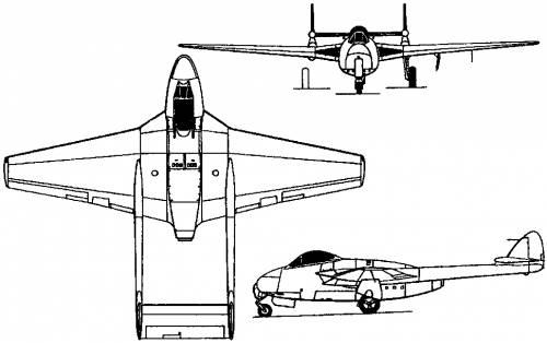 Sud-Est SE 530 Mistral (France) (1951)