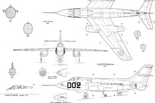 Sud-Ouest Aviation (SNCASO) S.O. 4050-01 Vautour