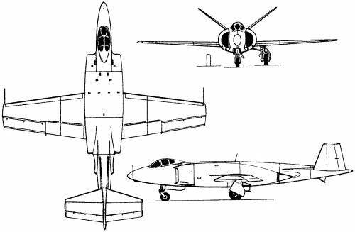 Supermarine 508 / 529 (England) (1951)