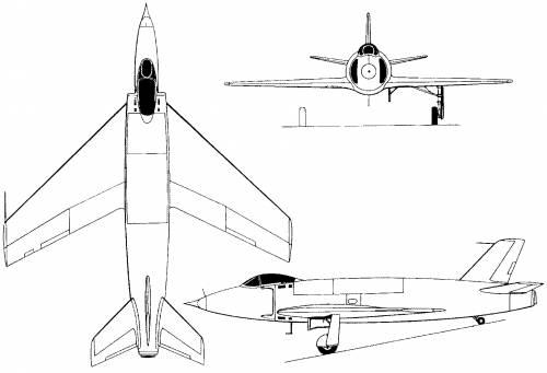 Supermarine 510 / 535 (England) (1948)