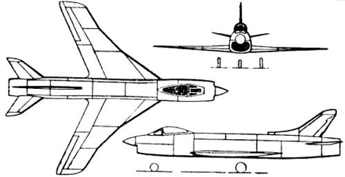 Supermarine 545 RB-106