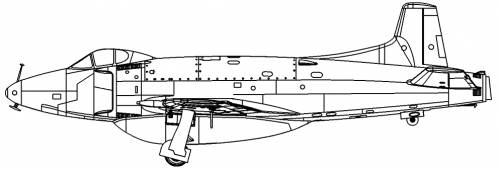 Supermarine Attacker F.1