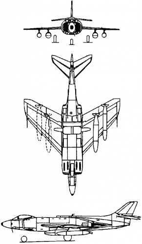 Supermarine Scimitar (England) (1951)