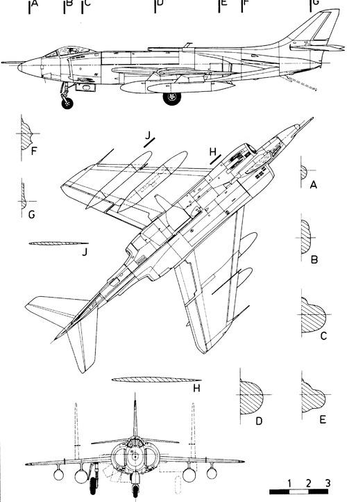Supermarine Scimitar F.1