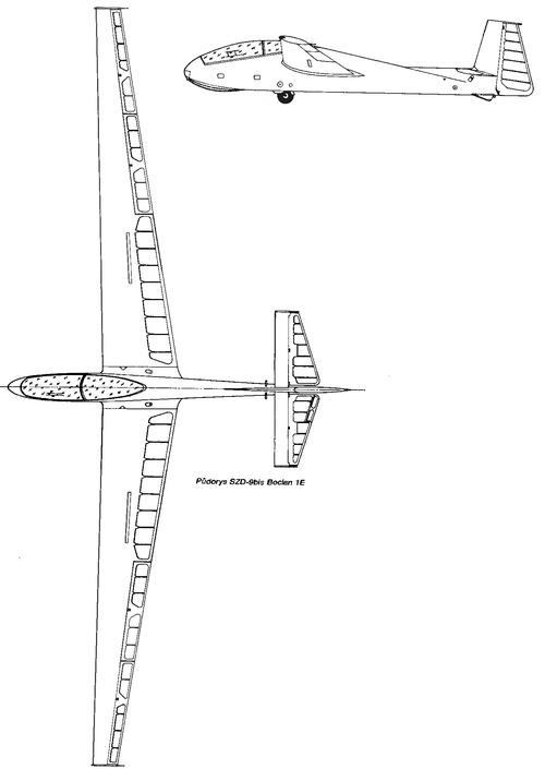 SZD-9bis Bocian 1E