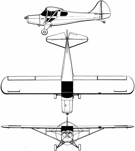 Taylorcraft 20 Ag