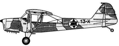 Taylorcraft Auster AOP.3