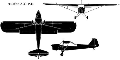 Taylorcraft Auster AOP.6