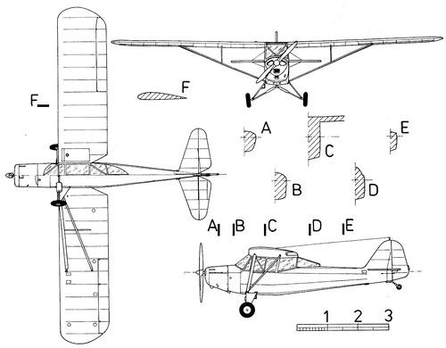 Taylorcraft L-2 Grasshopper