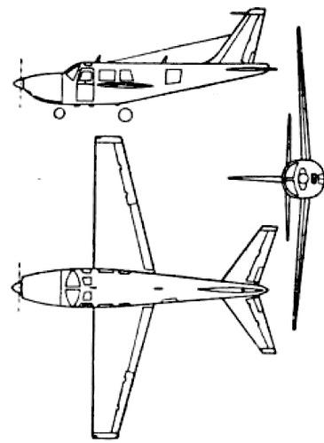 Ted Smith Aerostar 150 (Piper Aerostar)