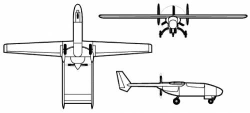 Teledyne Ryan Model 410