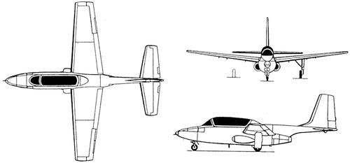 Temco 51 TT-1 Pinto