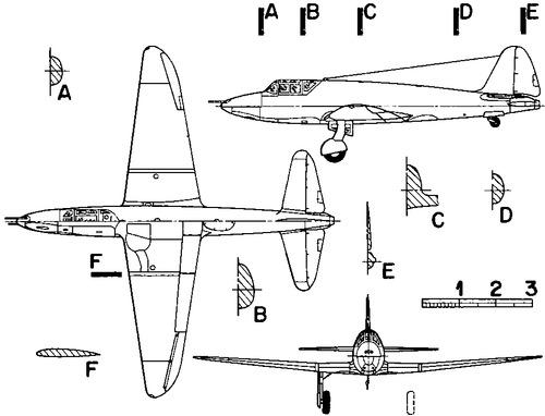 Tikhonravov I-302P Rocket Plane