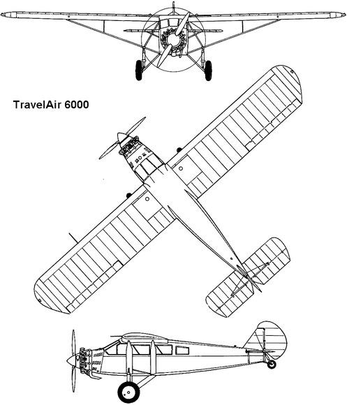 Travel Air 6000