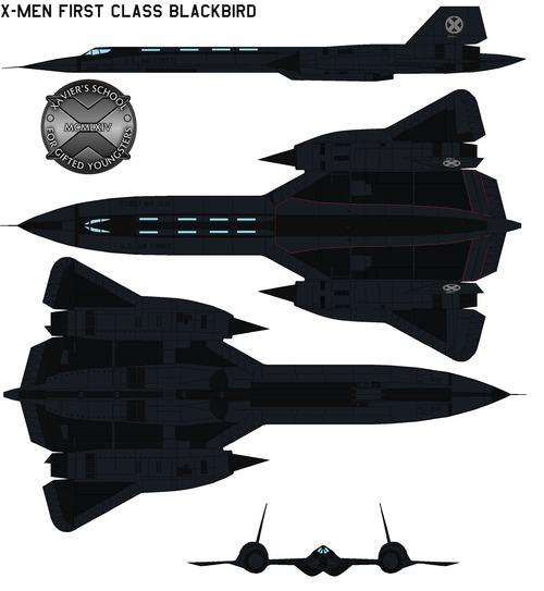 X-Men First Class Blackbird