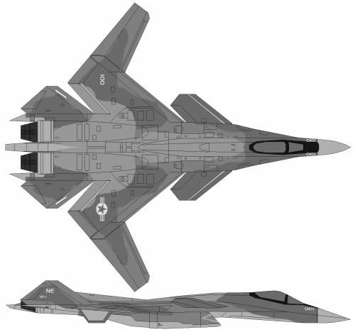 YF-25 X-02 Wyvern