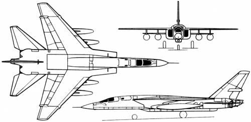 North American A-5 Vigilante (USA) (1958)