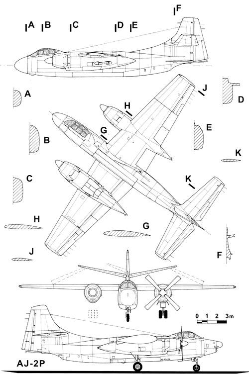 North American AJ-2P Savage