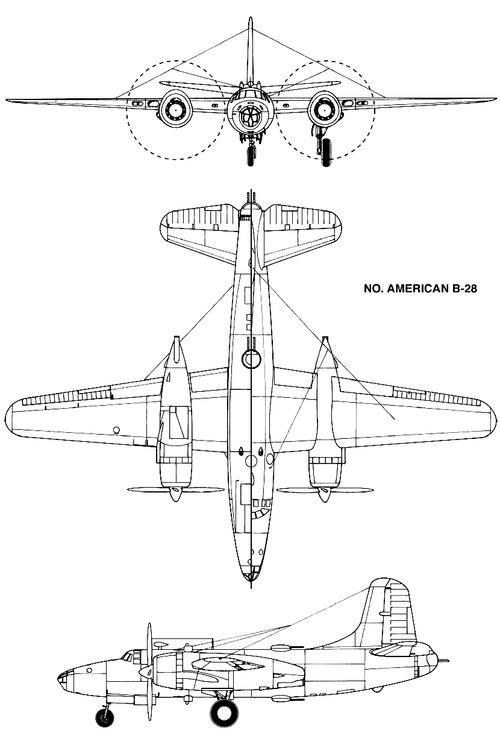 North American B-28 Dragon