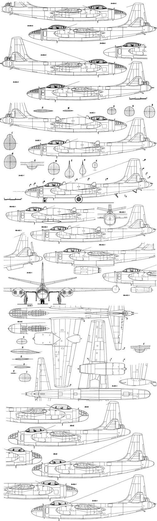 North American B-45 Tornado