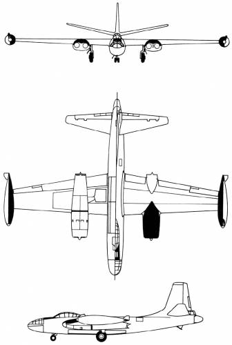 North American B-45 Tornado (USA) (1947)