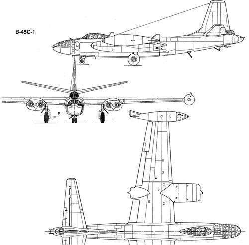 North American B-45C-1 Tornado