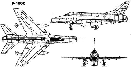 North American F-100C Super Saber
