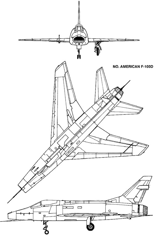 North American F-100D Super Saber