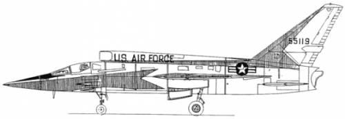 North American F-107 A