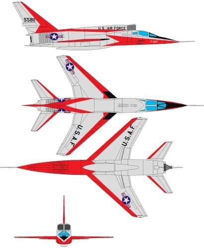 North American F-107 Ultra Sabre