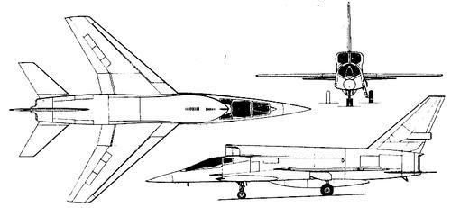 North American F-107A Ultra Sabre