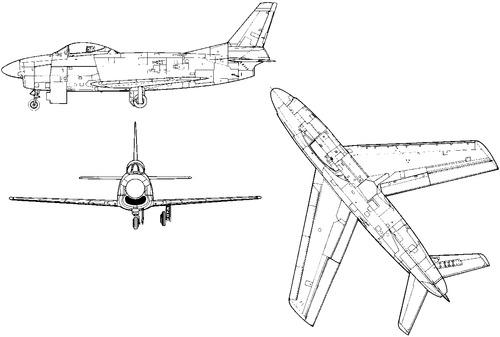 North American F-86D-45 Sabre Dog