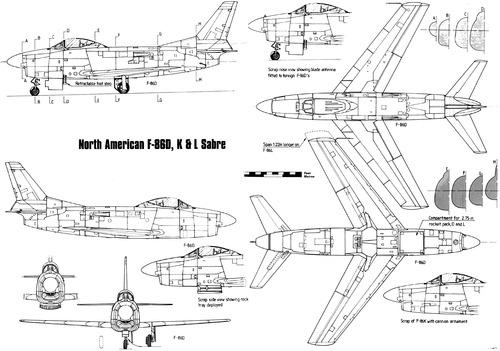 North American F-86D-K-L Sabre Dog