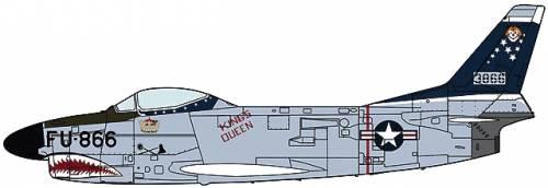 North American F-86D Saber Dog