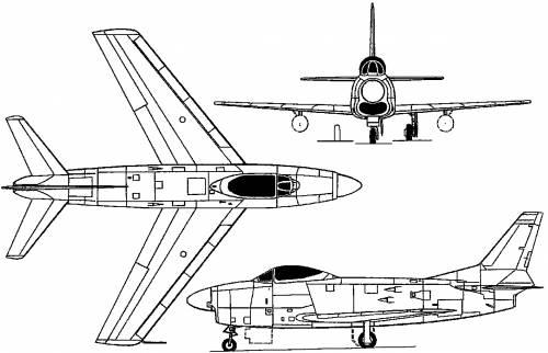 North American F-86D / YF-95 Dog Sabre (USA) (1949)