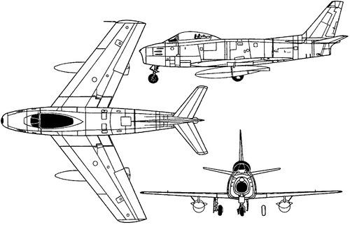 North American F-86F Sabre