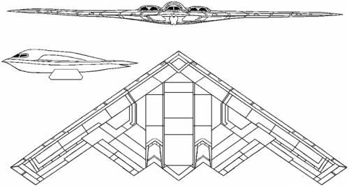 Northrop B-2 Spirit (USA) (1989)